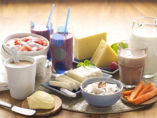 Maitovalmisteita (Kuva: Maito ja Terveys ry)